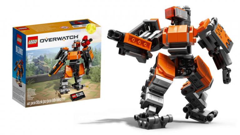 Overwatch : la collection LEGO arrive avec Bastion !