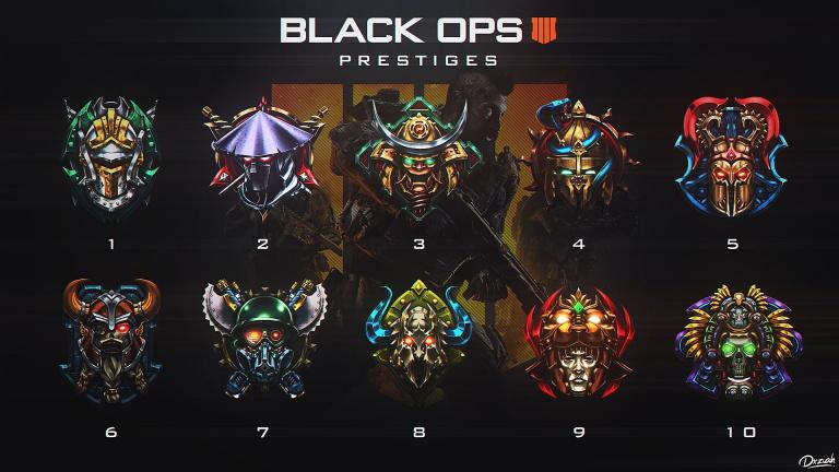 Call of Duty Black Ops 4 : quels sont les emblèmes de Prestige et comment les obtenir ?