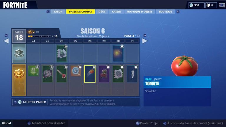 Fortnite, saison 6, guide défis semaine 3 : emplacement des défis chronométrés, lancer de tomates et élimination au piège