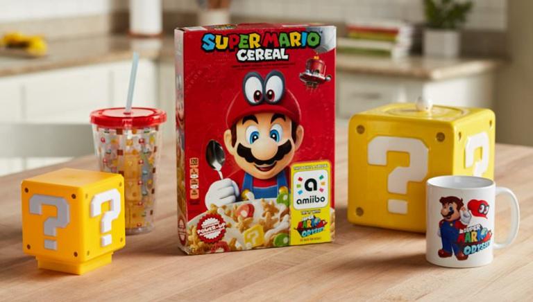 Nintendo : les céréales Super Mario arrivent au Mexique !