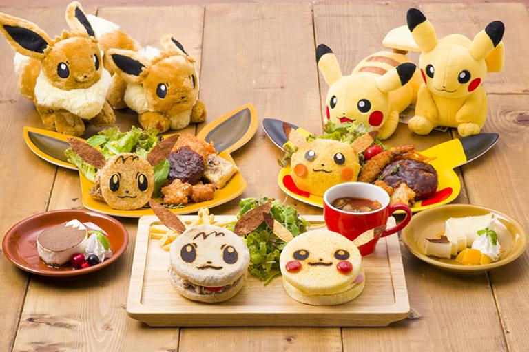 Pokémon Let's Go ! : voici les plats exclusifs du Pokémon Café