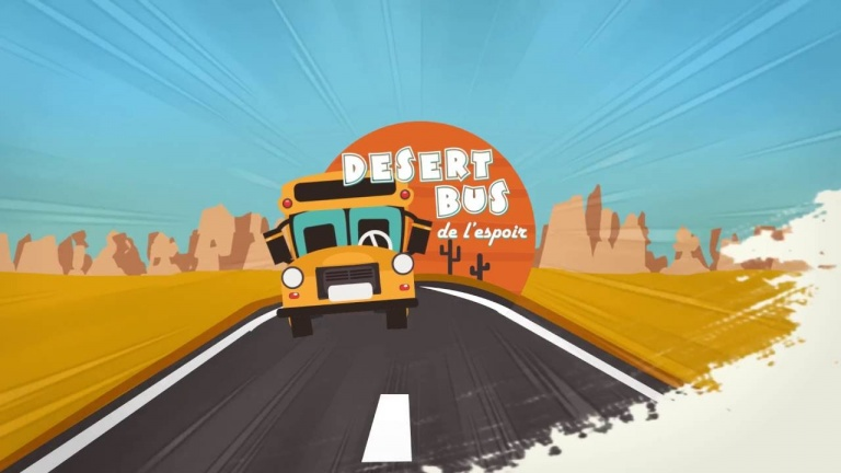 Desert Bus de l'Espoir 2018 : Rendez-vous sur la JVTV tout le week-end