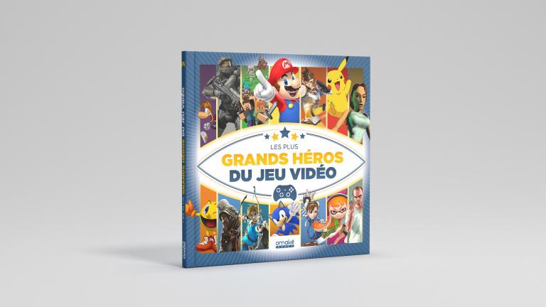 Omaké Books distribuera Les Plus Grands Héros du Jeu Vidéo en librairie