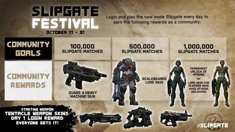 Quake Champions : Le Slipgate Festival dévoile ses récompenses