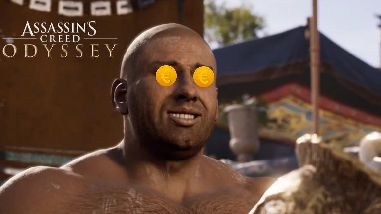 Assassin's Creed Odyssey clashe EA et les micro-transactions dans un easter-egg, comment accéder à la séquence ?