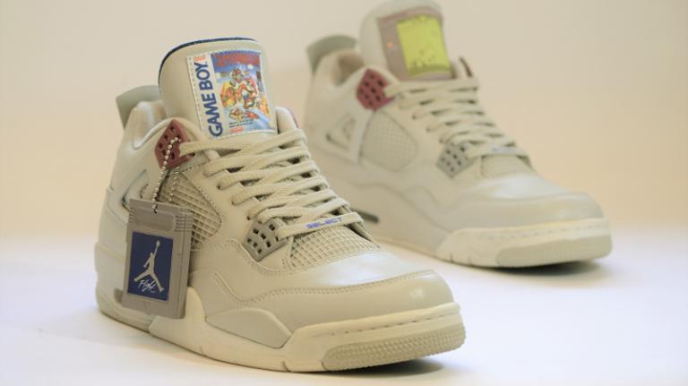 Game Boy : des Jordans aux couleurs de la console !
