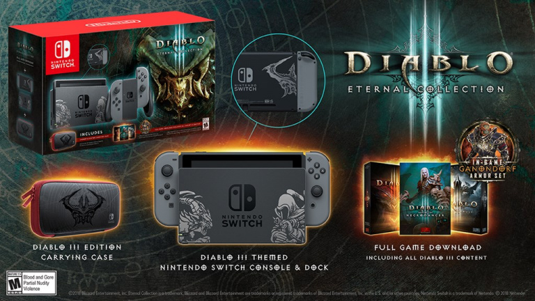 Diablo 3 Eternal Collection : voici la Switch collector !