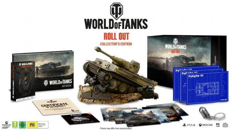 L'édition collector de World of Tanks précise sa date de sortie
