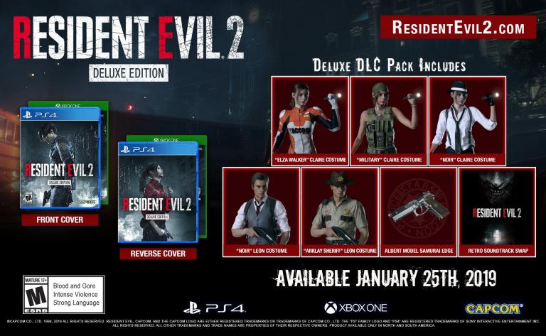 Resident Evil 2 Remake : le costume Elza Walker de Claire, dans la Deluxe Edition