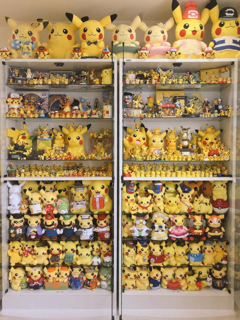 Pokémon : une collection Pikachu à plus de 60 000 Euros !