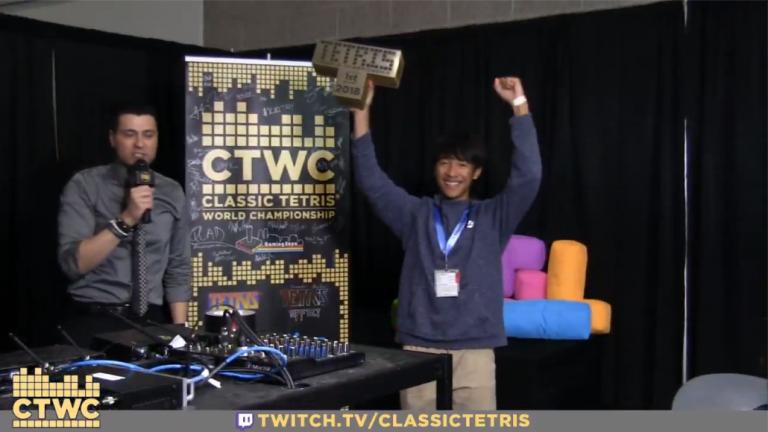 Tetris a un nouveau champion du monde
