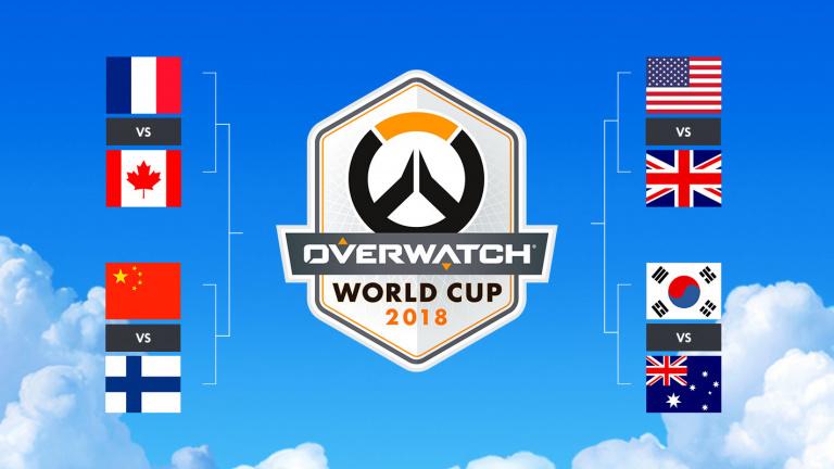 Coupe du monde d'Overwatch : le programme des phases finales à la BlizzCon 2018