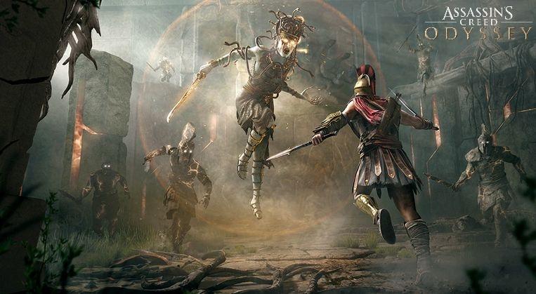 "Soluce Assassin's Creed Odyssey : arc narratif ""Entre deux mondes"", les combats divins"