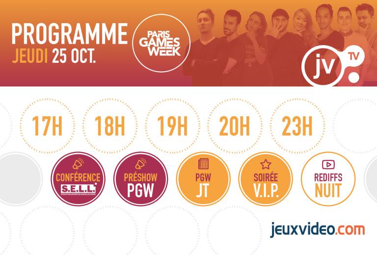 PGW 2018 : Découvrez notre programme spécial sur la JVTV