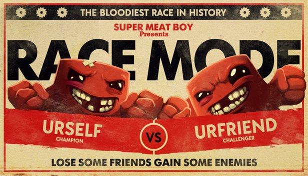 Super Meat Boy : le Race Mode débarque sur PC