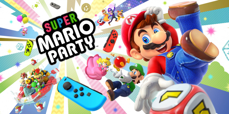 Super Mario Party : 1,5 million de copies vendues en octobre