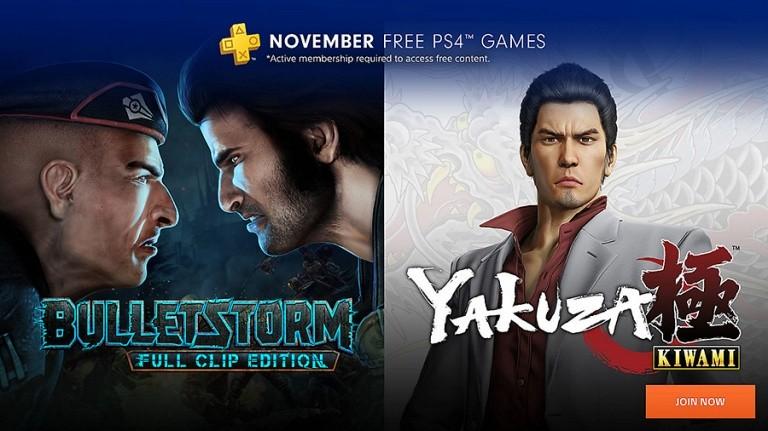 PlayStation Plus : les jeux gratuits du mois de novembre 2018