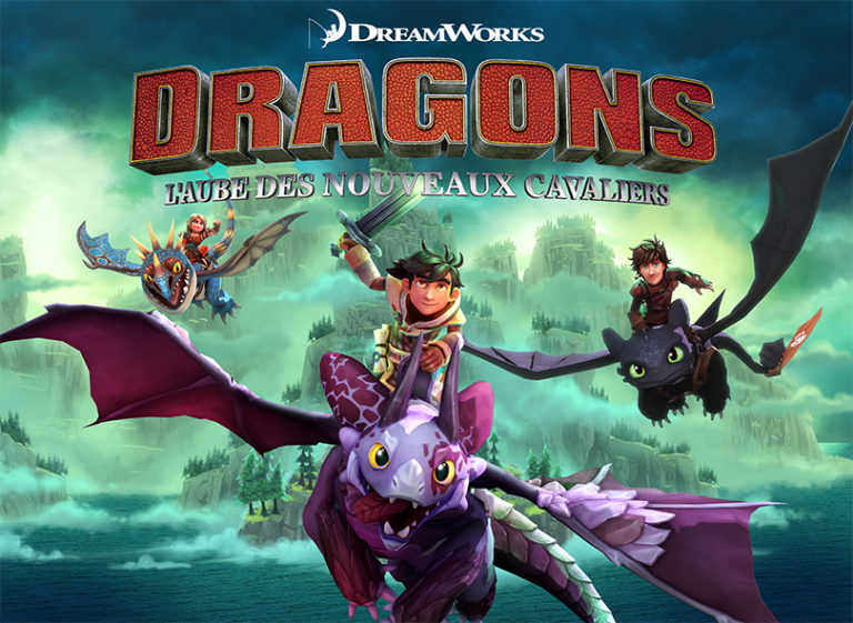 Dragons L'Aube Des Nouveaux Cavaliers accompagnera la sortie du troisième film en février