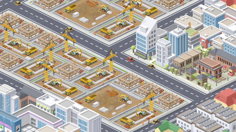 Pocket City s'agrandit sur mobiles