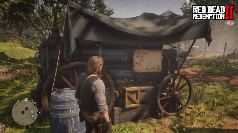 Red Dead Redemption 2 : voyages rapides, comment se déplacer plus rapidement depuis le camp ?
