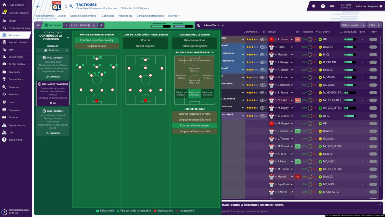 Football Manager 2019 : une démo pour découvrir la simulation
