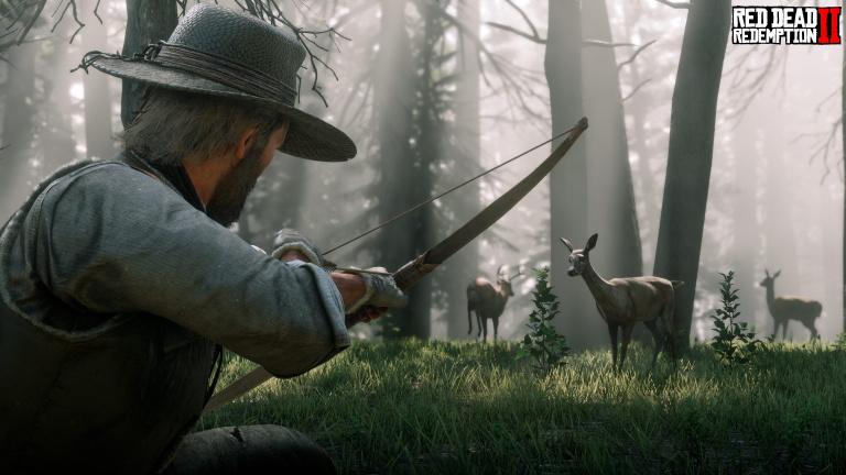 Red Dead Redemption 2, guide de la chasse : chasser de manière optimale, animaux légendaires