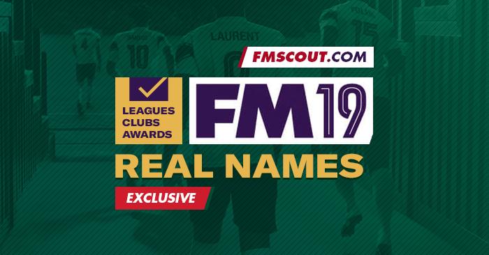 Football Manager 2019 : comment avoir les noms officiels des compétitions, clubs et récompenses