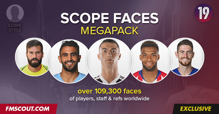Football Manager 2019, FM Touch : comment jouer avec les vraies photos des joueurs et des équipes