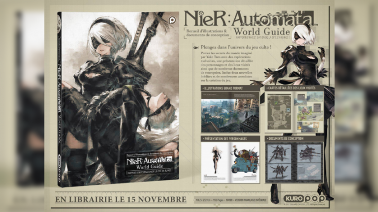 NieR Automata : Kurokawa va éditer l'artbook World Guide