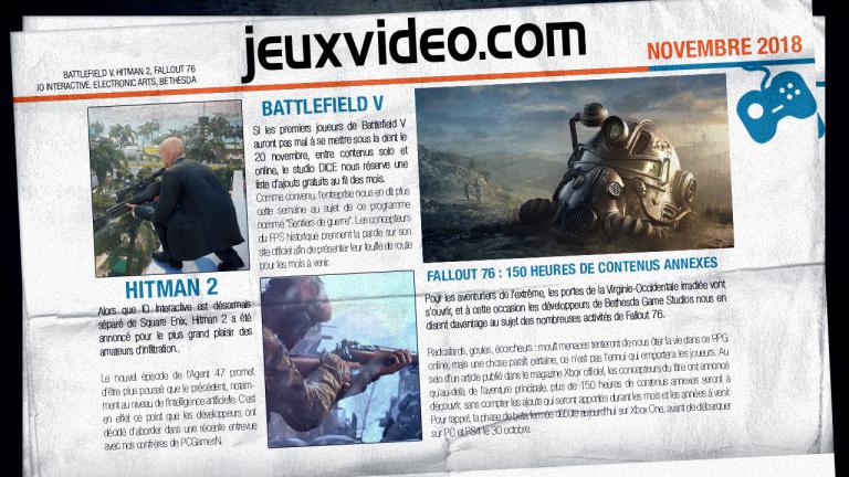 Les infos qu'il ne fallait pas manquer hier : X018, Falcom, GTA V...