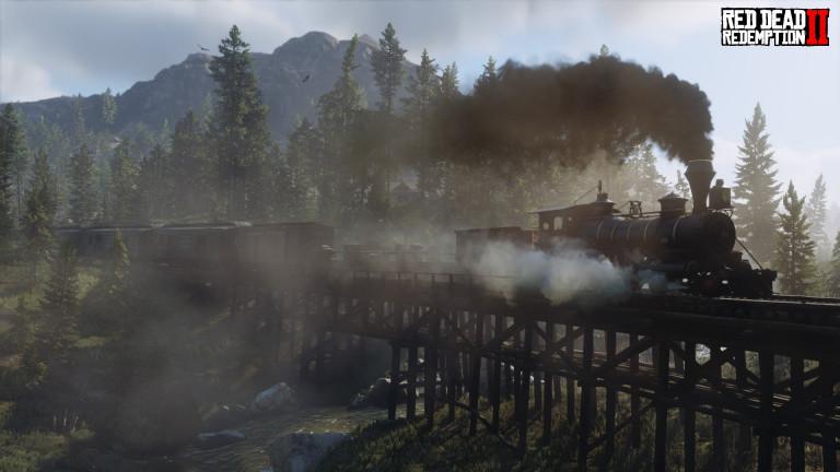 Red Dead Redemption 2, easter-egg : un train de nuit pas comme les autres, comment croiser sa route