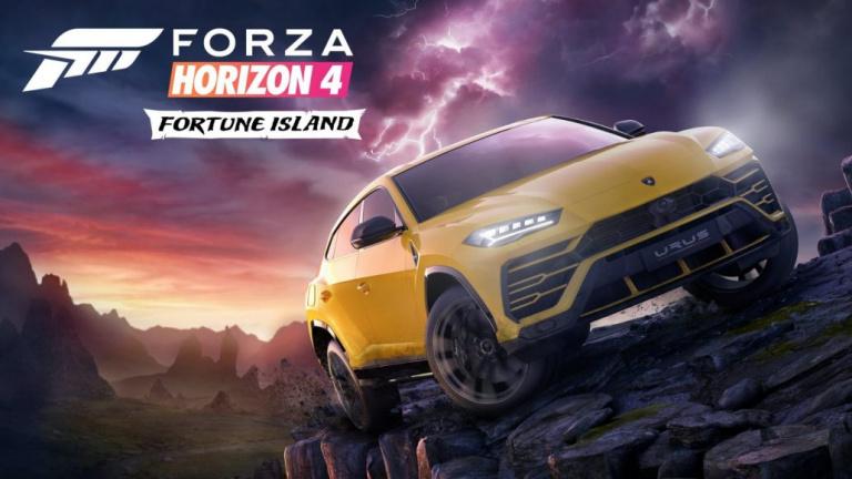 X018: Fortune Island, premier DLC de Forza Horizon 4
