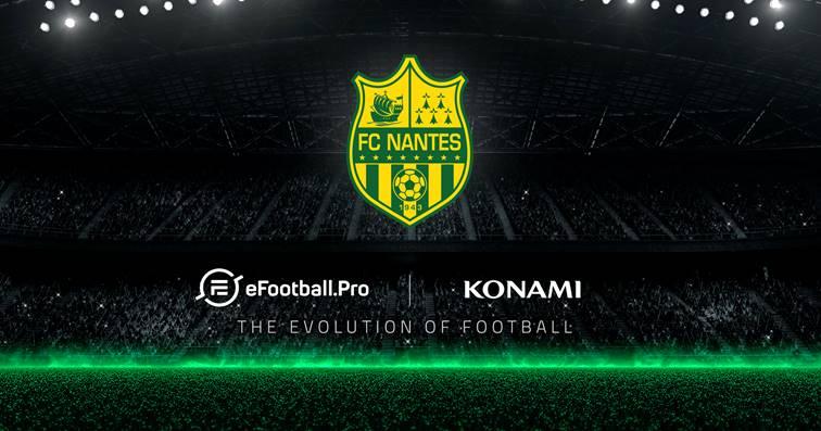 PES 2019 : Le FC Nantes intègre la ligue eFootball Pro