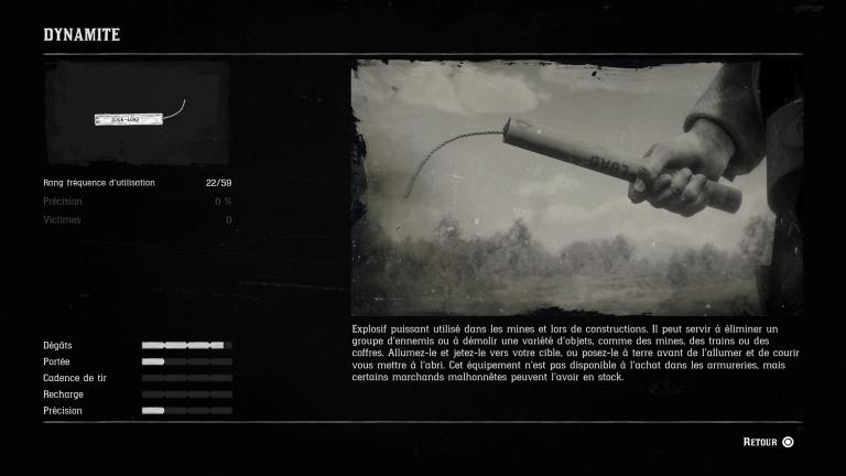 Liste de toutes les armes du jeu
