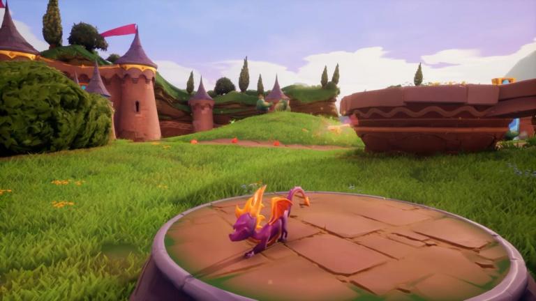 Cheat code Spyro tout plat