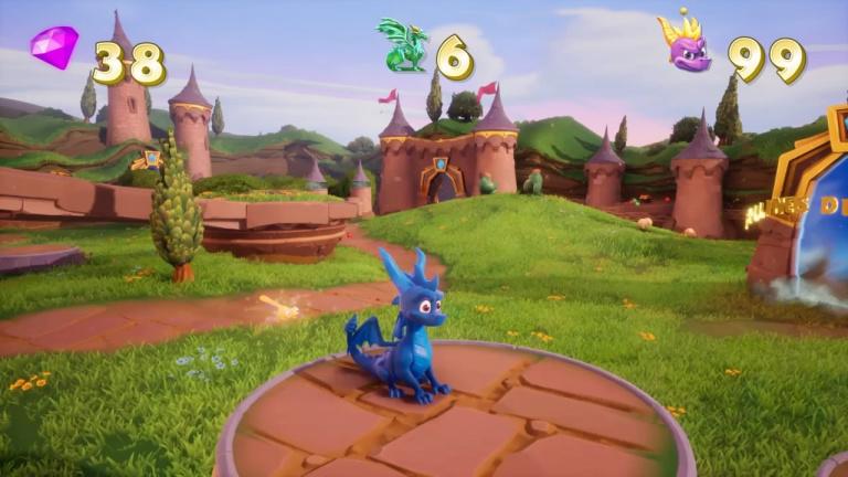Cheat code Spyro tout bleu