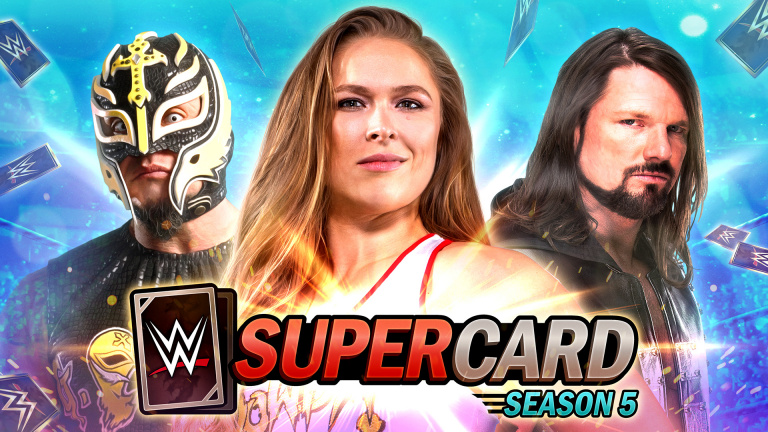 WWE SuperCard : La saison 5 officiellement lancée