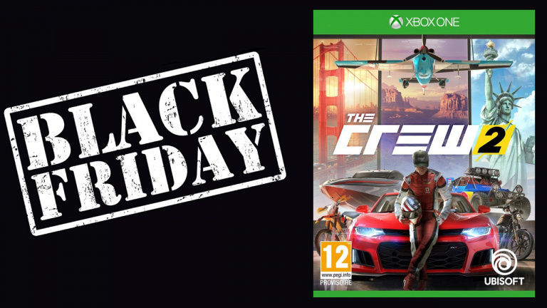 Black Friday : The Crew 2 à 19.99€ sur PS4 et Xbox One
