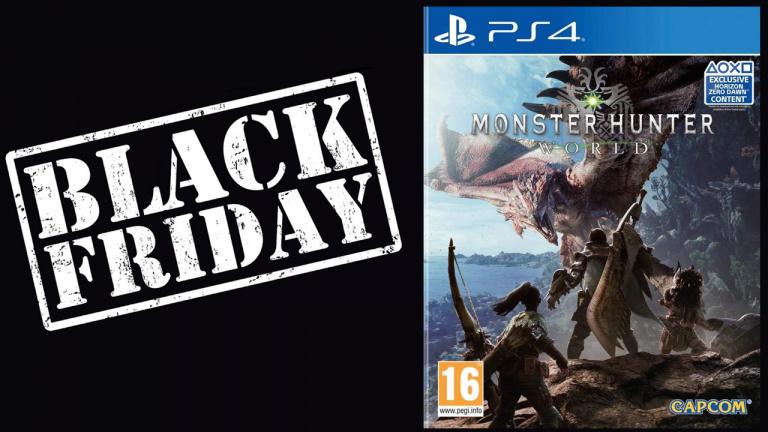 Black Friday : Monster Hunter World à 24.99€ sur PS4 et Xbox One