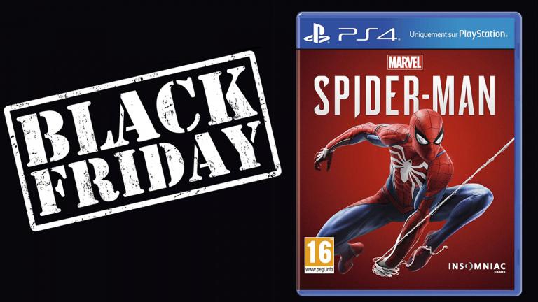 Black Friday : Marvel's Spider-Man à 39.99€ sur PS4