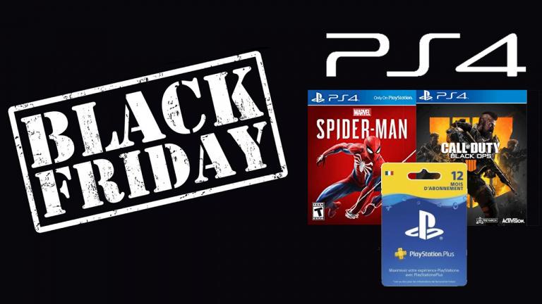 Black Friday : Pack PS4 Slim 1To + CoD Black Ops 4 + Spider-Man à 329.99€