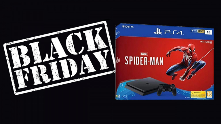 Black Friday : Pack PS4 Spider-Man Slim 1To + 2nd manette à 299.99€