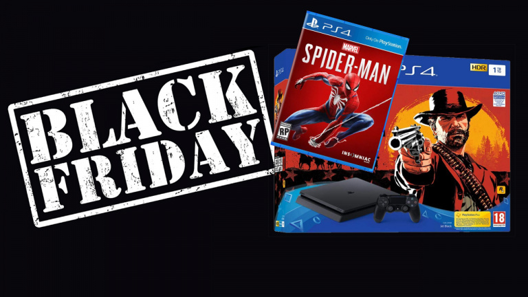 [MaJ] Black Friday : PS4 Slim 1To + Red Dead Redemption 2 + Spider-Man à 299.99€