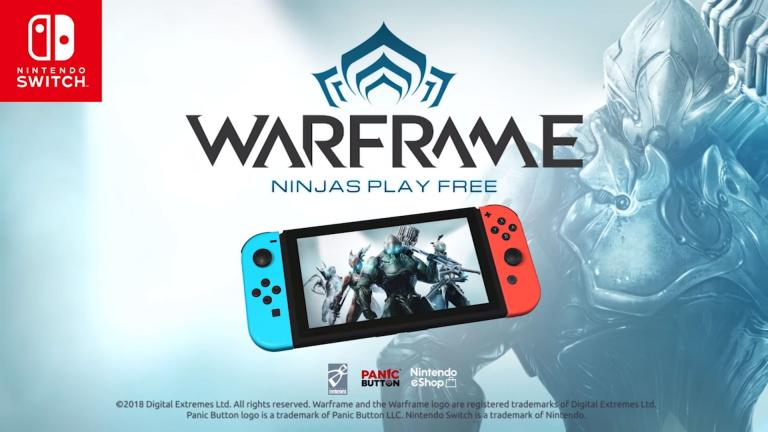 Warframe : un starter pack pour les joueurs sur Nintendo Switch