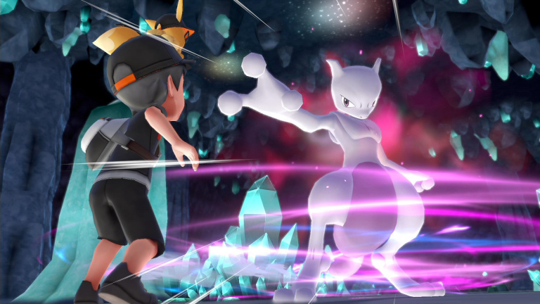 Capturer Mewtwo