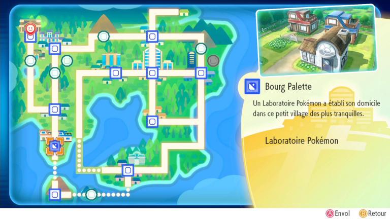 carte pokemon let s go Pokémon Let's Go map : carte complète de Kanto   Pokémon Let's Go