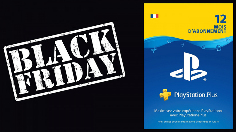 Black Friday : 12 mois de PlayStation Plus à 47.99€