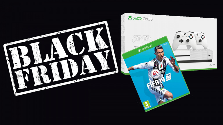 Black Friday : Xbox One S 1To + 2 jeux + 2 pads à 229€