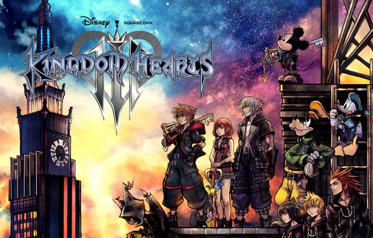 Champagne, le jeu est gold, le développement est terminé — Kingdom Hearts III