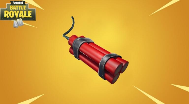 Fortnite : Guide de la dynamite. Stats, stratégie, utilisation ...